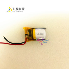 Small battery for mouse 501015 3.7v bluetooth battery li-polymer battery 60mah 501015