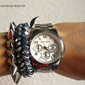Las Mujeres del diseñador Para Hombre de Primeras Marcas de Lujo Calendario Vestido de Ladi Rhinestones de Oro Rosa Casual Reloj de Lujo de Negocios Reloj de Cuarzo