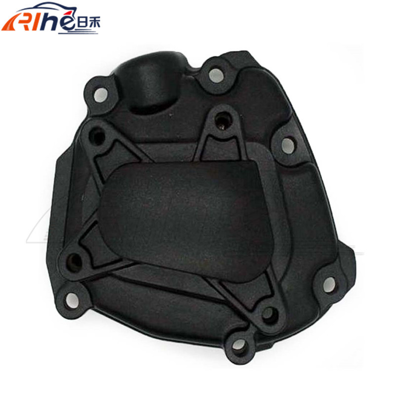 motorcycle accessories aluminum engine stator crank case cover black left engine stator cover for for YAMAHA  YZF1000 2009-2011 new motorcycle aluminum engine stator crank case cover black color engine stator cover for honda cb919f cb900 2002 2007 03 04