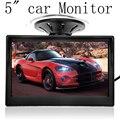 """5 """" с высоким разрешением HD 800 * 480 автомобилей TFT LCD монитор автоэлектрика канала видео с автомобиля камеры заднего вида оборудование"""