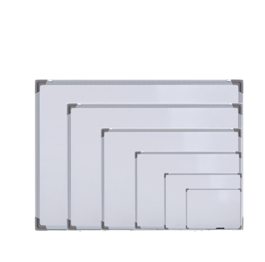 Magnetic Dry Erase Whiteboard, 60x45 Cm(24x18 Inches), Silver Aluminium Frame