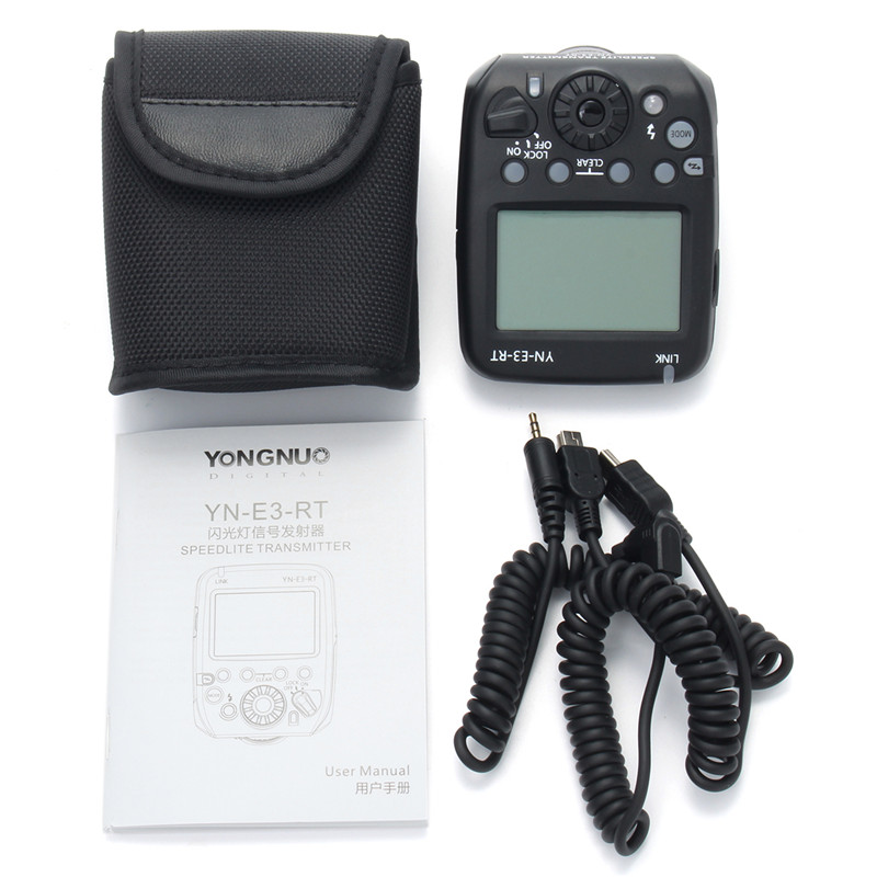 New Arrival YN-E3-RT TTL Radio Trigger Speedlite Transmitter As ST-E3-RT For Canon 600EX-RT mcoplus mt e3 rt ttl radio trigger speedlite transmitter for canon 600ex rt as st e3 rt vs yn e3 rt