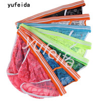 YUFEIDA 7PCS/Lot Men's Briefs Underwear Lace Men's Breathable Sissy Boy Gay Underwear Cuecas Sex Product Erotic Jockstrap Briefs