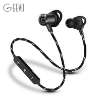 GV 18 Wireless Bluetooth Headphone Sweatproof Magnetic In Ear Sport Earbuds Noise Cancellation For Running Workout