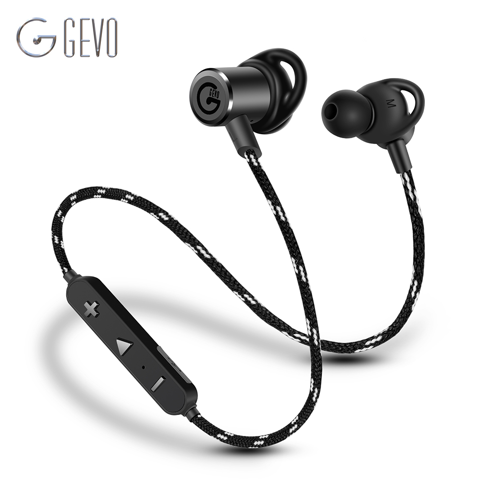 gevo gv 18bt wireless headphone bluetooth sport in ear. Black Bedroom Furniture Sets. Home Design Ideas
