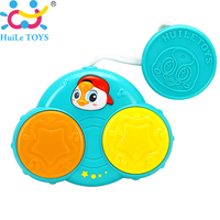 Functional Baby Birthday Gift Toddler Fun Hand Pat Drum Music Instrument Learing Eletrionics Toy Baby Stroller