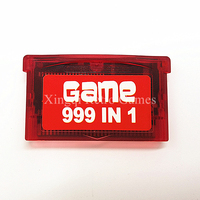 Nintendo GBA Game 499 In 1 Video Game Cartridge Console Card Compilations Collection English Language