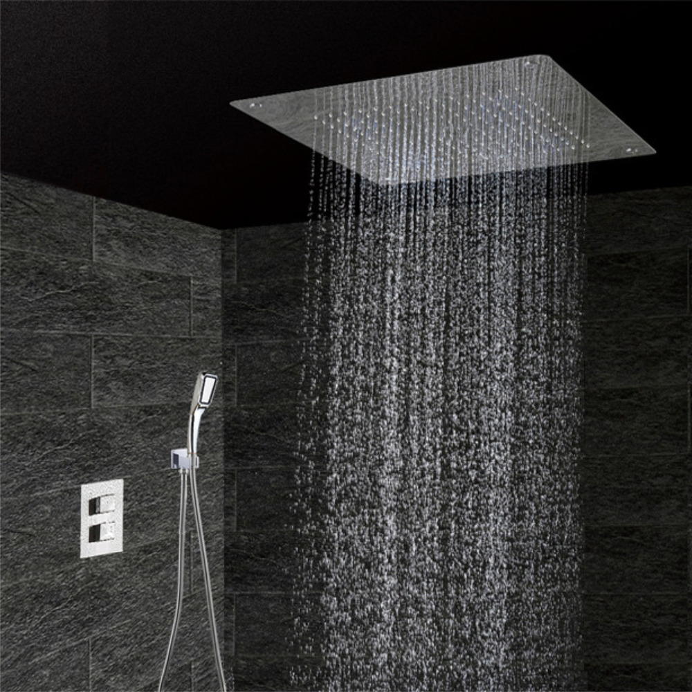 Back To Search Resultshome Improvement Shower Faucets Bathroom Concealed Control Valve Thermostatic Mixing Valve Brass Wall Mounted 2 Ways Shower Panel Stainless Steel Controller Removing Obstruction