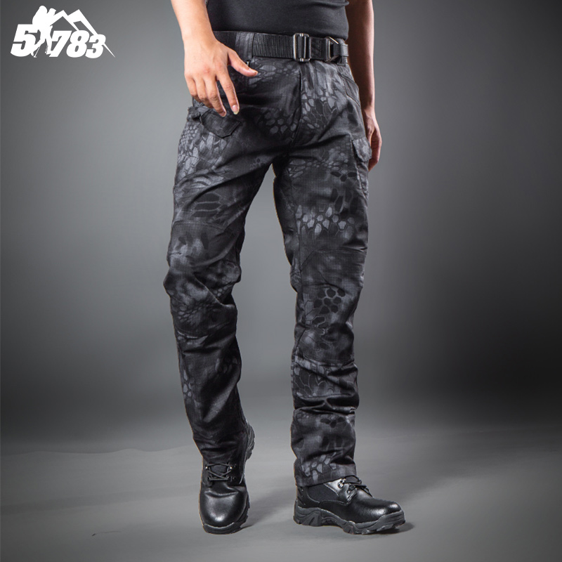 Multicam Airsoft Military Camouflage Ix7 Pants Blind Hunting Clothing Tactical Cargo Pants Army Combat Pants Camouflage