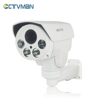 CCTV AHD Camera HD Outdoor Bullet Weatherproof Fixed Lens 6mm IR Nightvision PT Pan Tilt Rotation