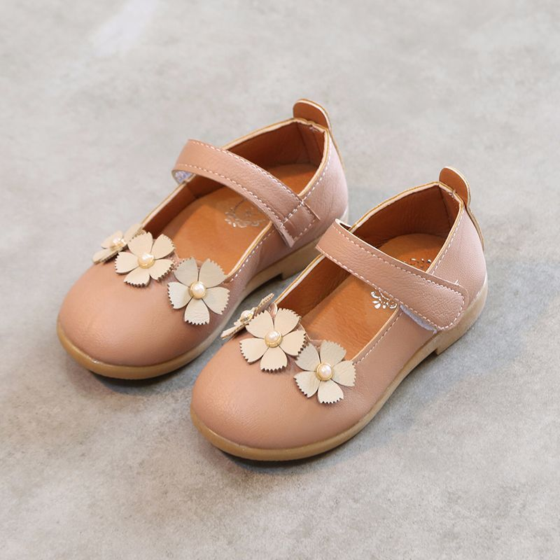 New Childrens Flower Girl Shoes 2018 New Baby Kids Girls White Shoes