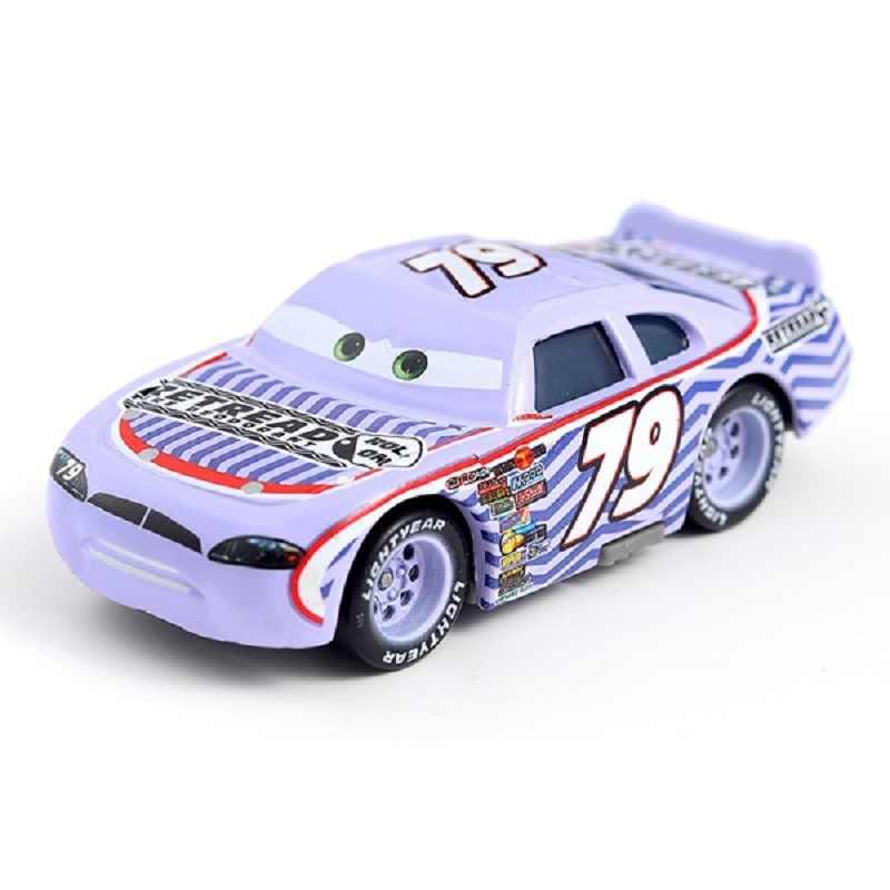 Disney Pixar Cars 3 2 игрушечный автомобиль Молния Маккуин № 79 восстановленных Мак дядя Грузовик литья под давлением 1:55 Свободные Фирменная новинка в наличии