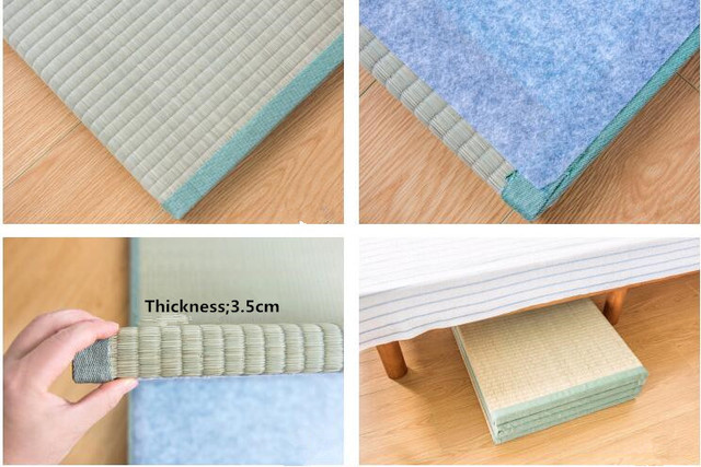 15%,Japanese Traditional Tatami Mattress Mat Rectangle Large Foldable Floor Straw Mat For Yoga Sleeping Tatami Mat Flooring 3