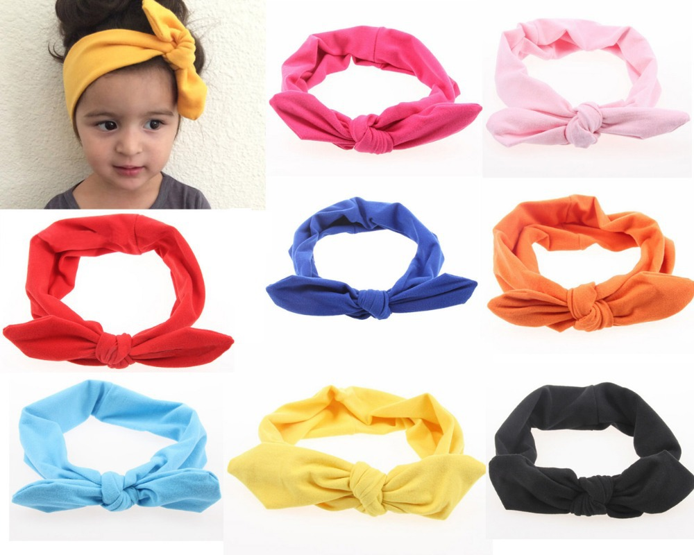 12pcs Lot Baby Kids Organic Top Knot Headband Knotted On Alibaba Group