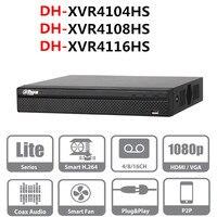 DH DVR video recorder XVR4104HS XVR4108HS XVR4116HS 4ch 8ch 16ch 1080P Support HDCVI/ AHD/TVI/CVBS/IP Camera