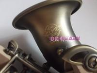 Free Shipping SelmerSaxophone BB High Tone Curve Bell B Curved Soprano Sax Saxofone Saxe Musical Instrument