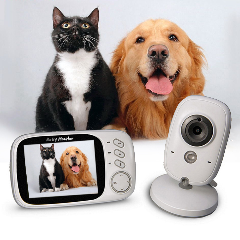 VB603 3 2inch LCD Sreen Wireless Love Pet Monitor Camera Night Vision Sleep Video Monitor Care