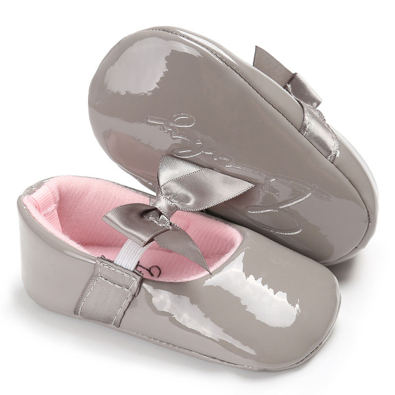 WONBO-Newborn-Baby-Girls-Princess-Shoes-Crib-Bebe-Infant-Toddler-Kids-First-Walkers-Patent-leather-Mary-Jane-Big-Bow-Solid-Shoe-2