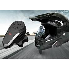 BT-S3 Motorcycle Helmet Walkie-talkie 1000M Wireless Bluetooth Headset Waterproof Sunscreen Double Full