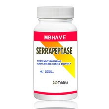 FREE SHIPPING NEW 2017  Serrapeptase 80,000iu  250 pcs High Strength Health Aid Natures Best