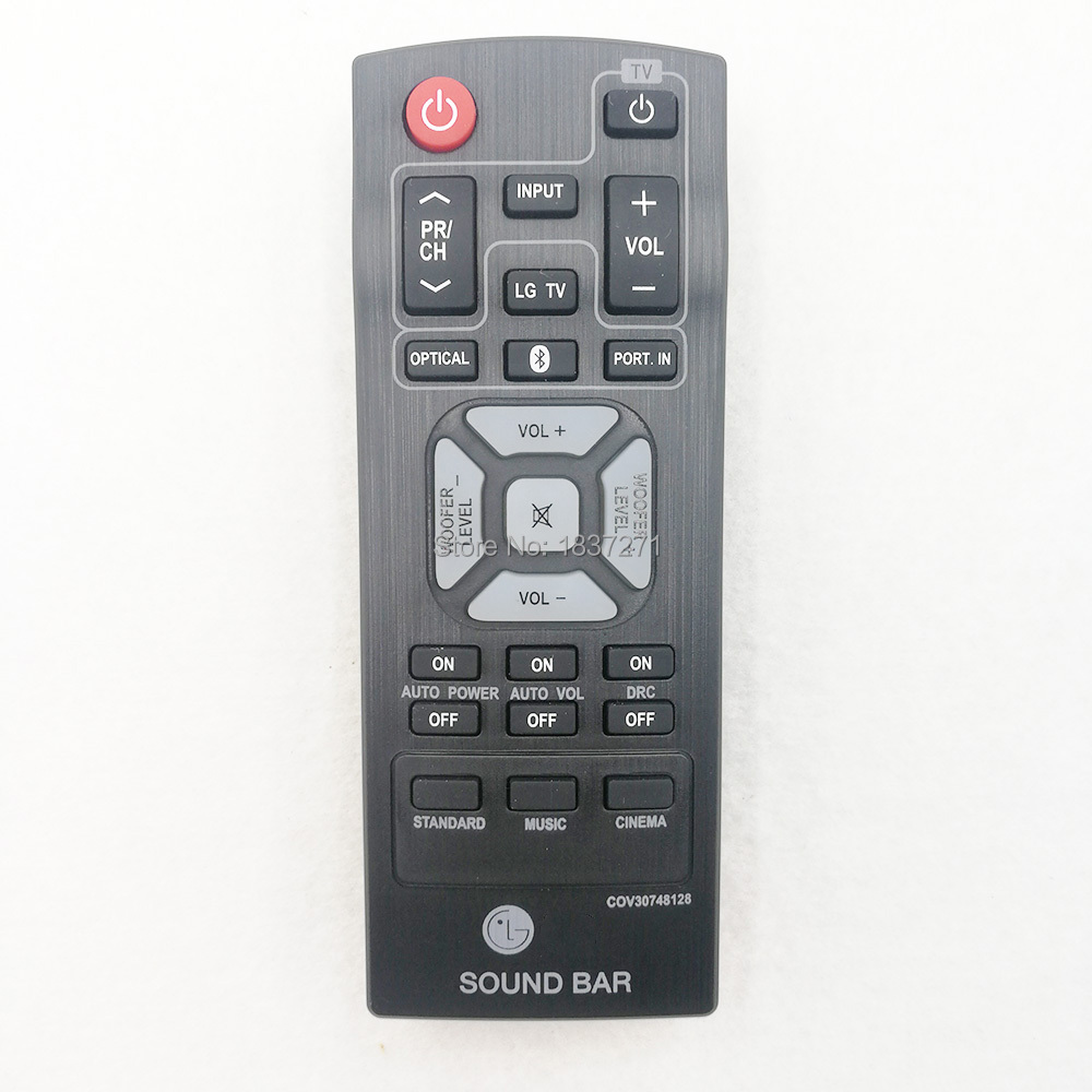 US $8 0 |original remote control COV30748128 for lg NB2540 NB2540A S24A1 W  S24A1W sound bar-in Remote Controls from Consumer Electronics on