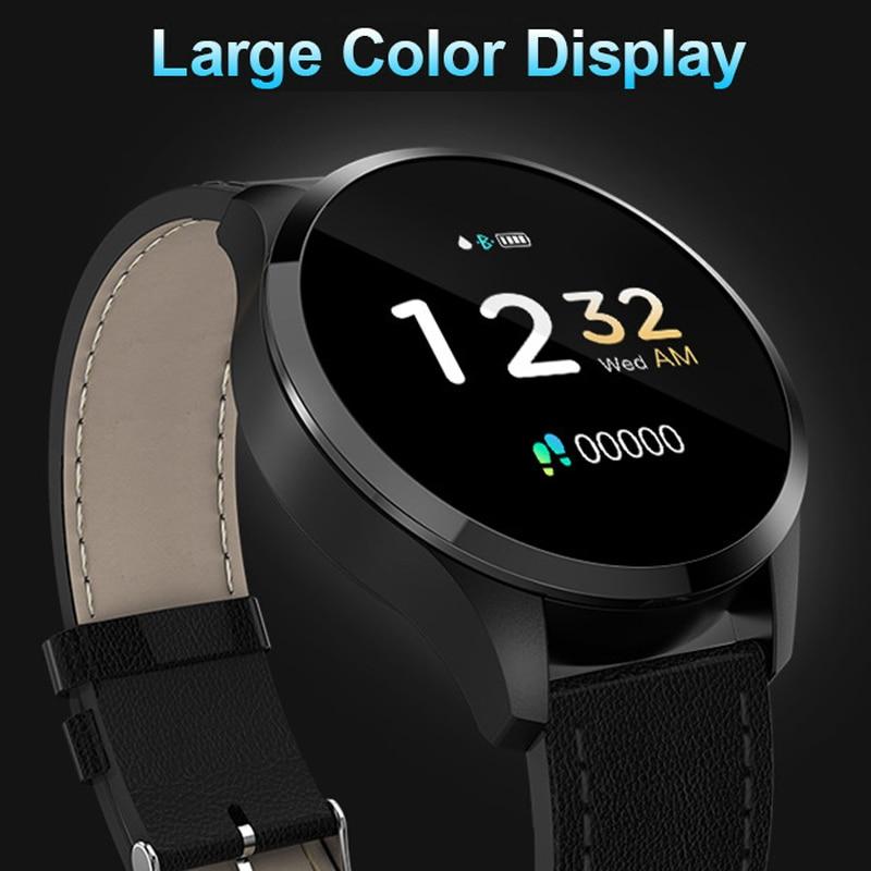 Smart Watch Men Women Large Glass Screen HR Sensor Smart Band Blood Pressure Monitor Health Management Fashion Smart Bracelet