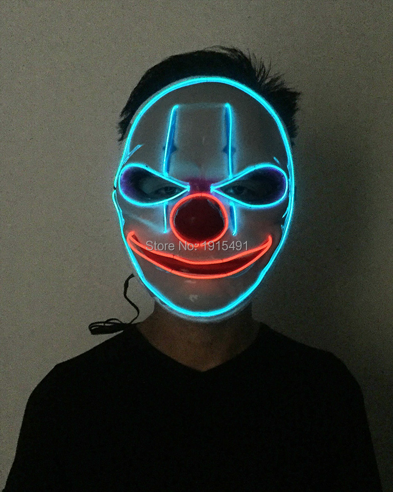 10Pieces Luminous Lighting Bulbs Lamp Rave Costume Party Voice Control Led Tubes Wire Fashion Show Mask for New Years Day Decor new arrival colorful neon led bulbs melbourne shuffle dance costume night lamp el wire bright ghost step suit for concert party