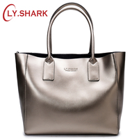 LY.SHARK female bag ladies genuine leather women bag shoulder messenger bag women handbag big famous brand designer fashion tote