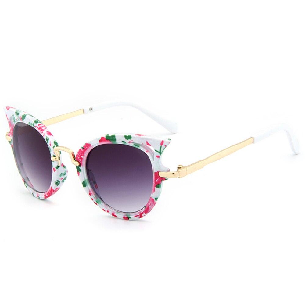 2017 Neue Kinder Sonnenbrille Mädchen Marke Cat Eye Kinder Gläser Jungen Uv400 Objektiv Baby Sonnenbrille Nette Brillen Schattierungen Brille Online Rabatt
