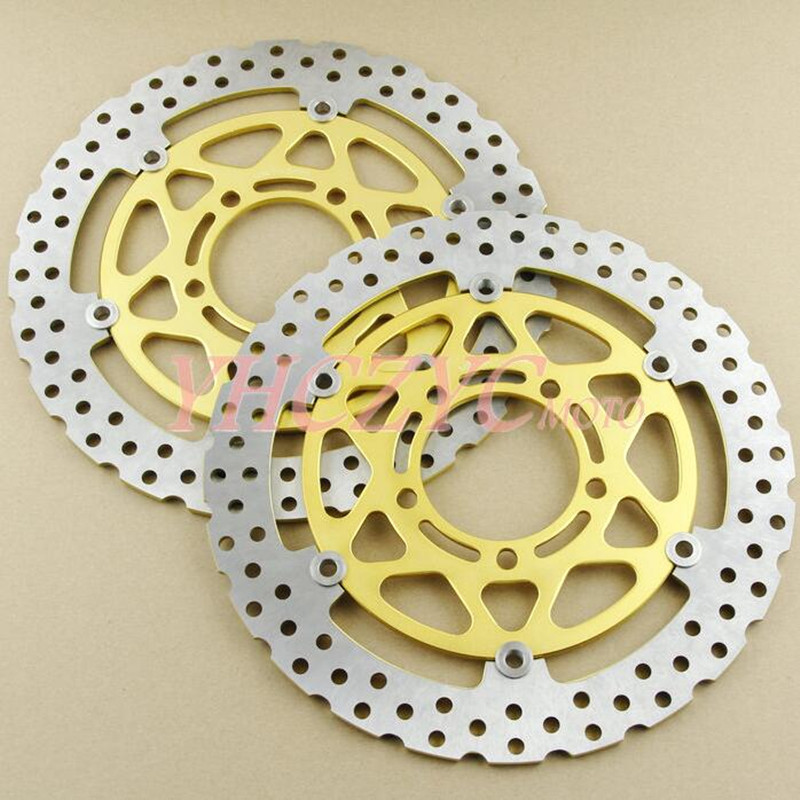 1 Pair Motorcycle Front Brake Disc Rotor For Kawasaki ZX1000 Z1000SX ABS 2011 2014 2012 2013 ZX 1000 Z1000 SX NEW