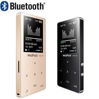 mahdi HIFI Lossless Bluetooth MP3 Player Recorder FM Video E book 4G/8G/16G Radio Sport Wireless Music Player Support OTG Link