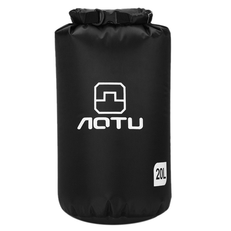 Aotu Portable 20L Waterproof Bag Storage Dry Bag for Canoe Kayak Rafting Sports Outdoor Camping Equipment Travel Kit