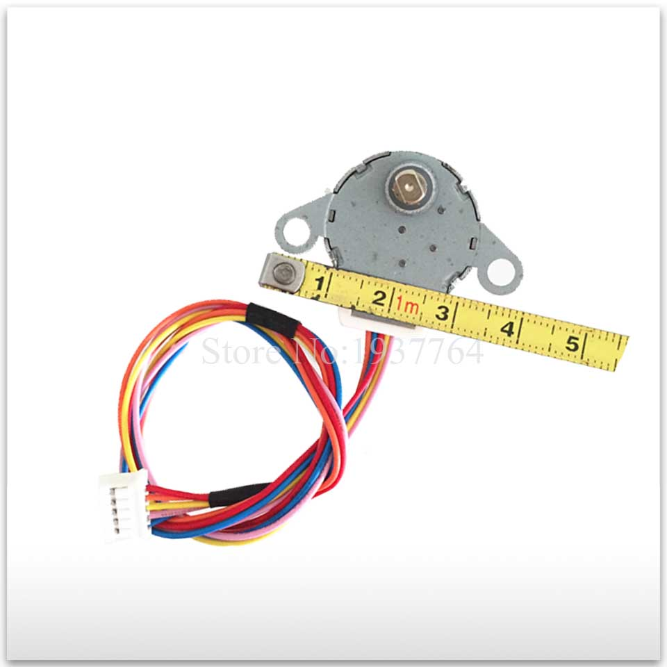 все цены на 100% new for Air conditioning Stepper motor 24BYJ48A = GAL12A-BD DC 12V Synchronous motor good working онлайн