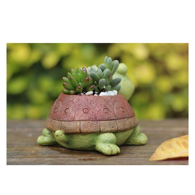 Turtle Flower Pot