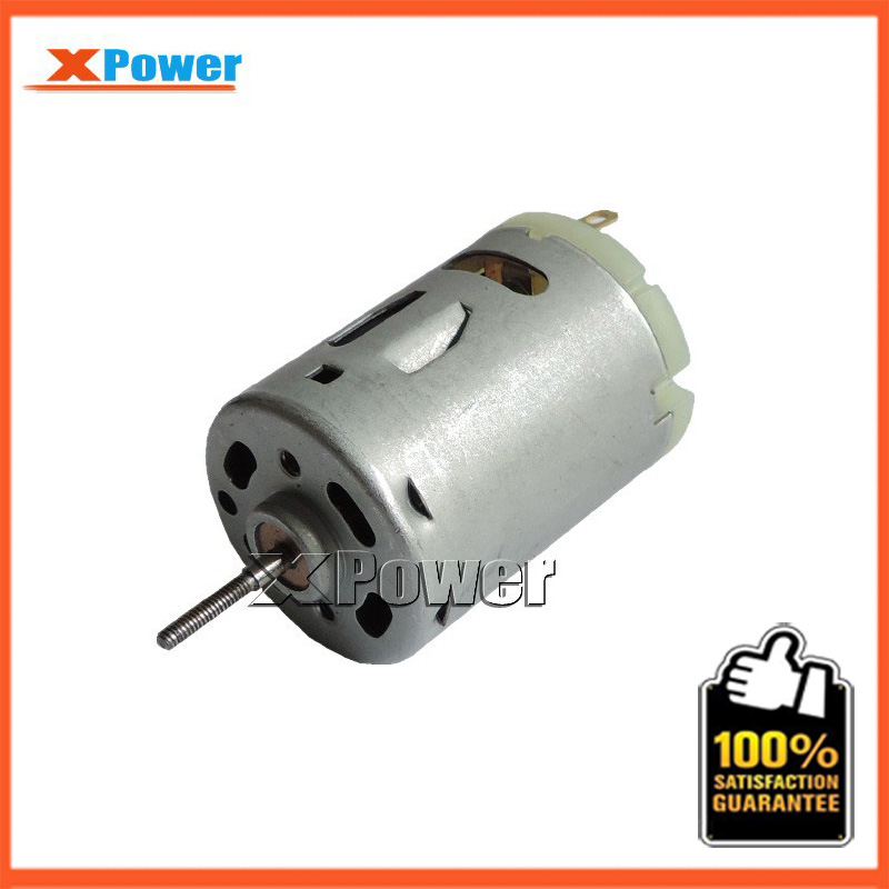 Wholesale RS-385SD 12V DC Micro Motor 4650-9300rpm Screw Shaft High Speed Motor 12v - 24v Mini Electric Motor 12v Mini Motor new r775 12v 12000rpm dc micro motor stroller motor model motor speed motor