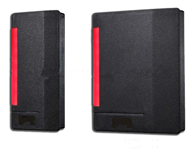 Door Access RFID access control card reader Door card proximity reader outdoor mf 13 56mhz weigand 26 door access control rfid card reader with two led lights