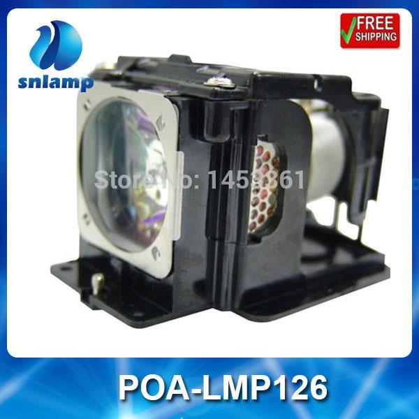 Replacement projector lamp bulb POA-LMP126/610-340-8569 for PRM10 PRM20 PRM20A free shipping compatible projector lamp for promethean prm10 lamp prm10 prm20