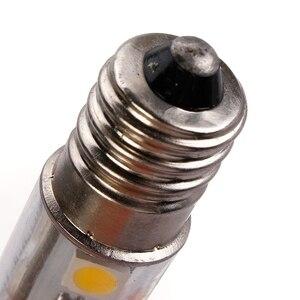 Image 4 - E14 스크류베이스 led 냉장고 램프 전구 1 w 220 v ac 7 leds smd 5050 ampoule led 냉장고 화이트 따뜻한 화이트 홈 1pc
