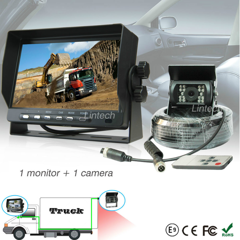 7 Inch Rear View Reverse Wired Rv Rear View Camera System