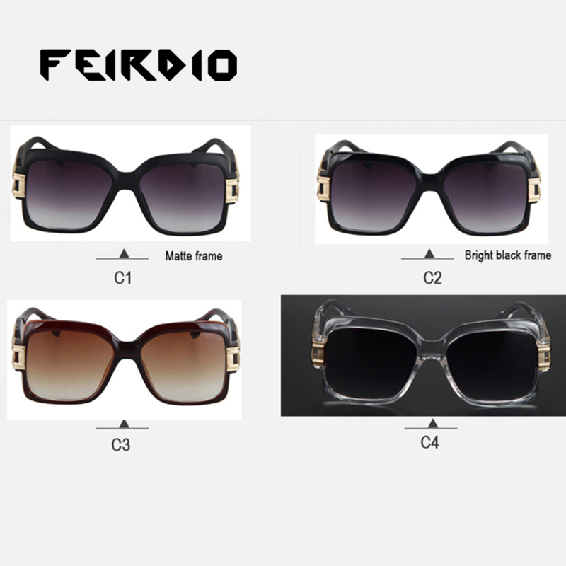 950dc4c44c3d8 Feirdio Hot Selling Lady Hombre Sun Glasses Eyeglasses Classic Oversized  Gafas Oculos De Sol Uv400 Protection For Safety Driving-in Sunglasses from  Apparel ...