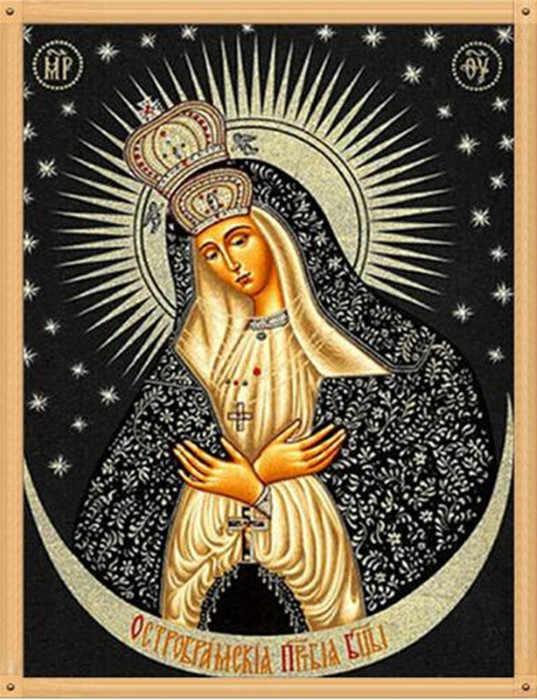 DIY diamante pintura punto de cruz 6 imagen religión icono 5d diamante bordado mosaico Año Nuevo decoración regalo