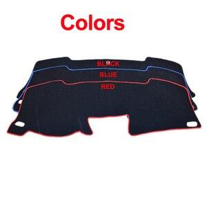 Image 2 - TAIJS Car Dashboard Cover Dash Mat For Peugeot 307 Sun Shade DashMat Pad Carpet Anti UV Automobile Protector Car Styling