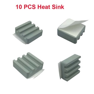 10 Pcs Raspberry Pi 3 Heat Sin