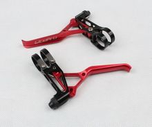 Discount! LITEPRO Light Mountain Bike Bicycle Hand V brake Levers Lever set 1pair RED