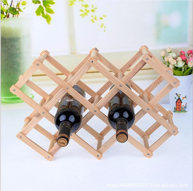 D Creative European Wine Rack Room Decor Decoration Wood Wine Bottle Rack  Living Room Modern Minimalist Furnishings In Figurines U0026 Miniatures From  Home ...