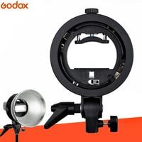Godox S Type Bracket Elinchrom S Mount Holder Fit Speedlite Flash Snoot Softbox Reflector