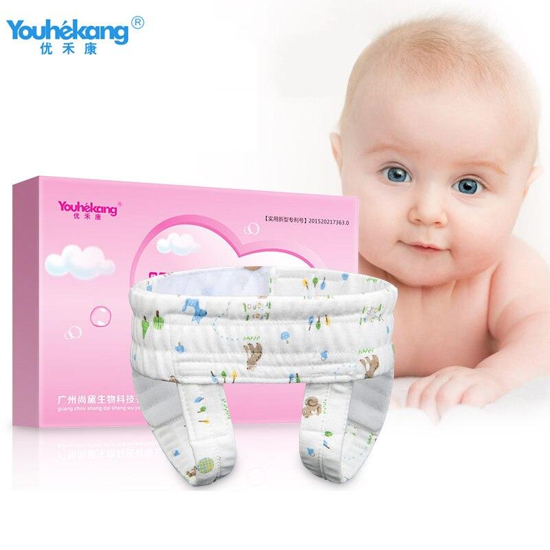 Youhekang 100% coton hernie Infantile ceinture hernie inguinale mâle bébé médical Infantile hernie traitement physiothérapie ceinture garde