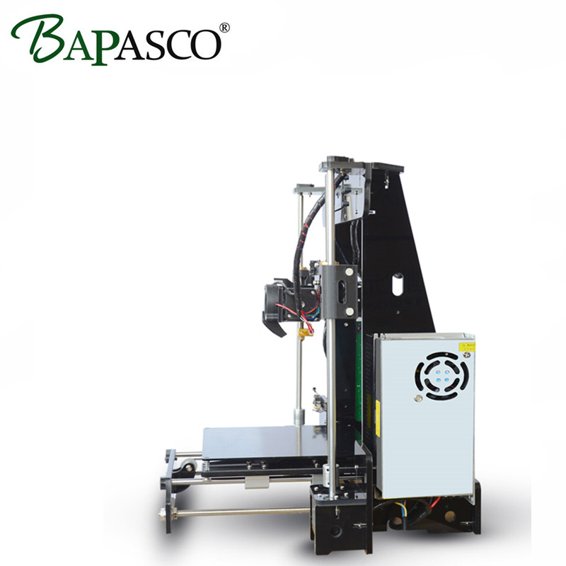 2017 BAPASCO High precision 3D Printer Kits I3 Extrusion 3D Printer DIY kit 3d printing 1 Rolls Filament 8GB SD card LCD As Gift ship from european warehouse flsun3d 3d printer auto leveling i3 3d printer kit heated bed two rolls filament sd card gift