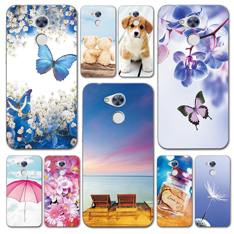 """Для Huawei Honor 6a 5,0 """"чехол для телефона с фантазийным дизайном, чехлы для Huwei Honor 6 A Capa, милые чехлы для телефонов с сердечками"""