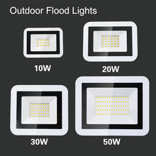 10W 20W 30W 50W LED Flood Light Warm/Cold White Outdoor/Indoor Waterproof IP66 Floodlight Spot Lights Residential Lighting цена 2017